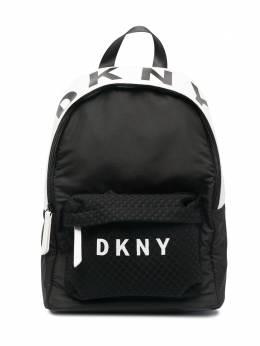 DKNY Kids двухцветный рюкзак с логотипом D30509