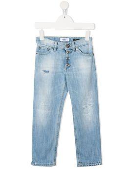 Dondup Kids узкие джинсы средней посадки DFPA52WD012