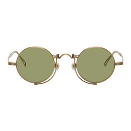 Matsuda Gold 10601H Sunglasses 10601H.SG.AG-S.45