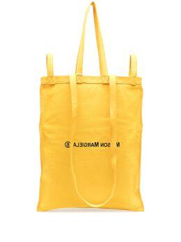 Mm6 Maison Margiela большая сумка-тоут с логотипом S54WC0058P3631