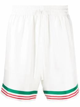 Casablanca шорты Tennis с полосками MS21TR012