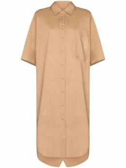 Lee Mathews платье-рубашка по колено E2004DR242