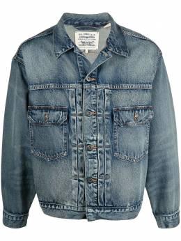 Levi's: Made&Crafted джинсовая куртка с эффектом потертости 21261