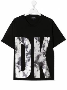 DKNY Kids футболка с логотипом D35R52