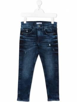 Calvin Klein Kids джинсы прямого кроя IB0IB007361BJ