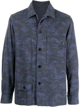 Ps by Paul Smith куртка-рубашка с камуфляжным принтом M2R604UF21135