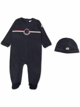 Moncler Enfant комплект из пижамы и шапки G19518O702008392E