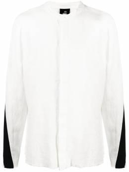 Thom Krom двухцветная рубашка на пуговицах MH115