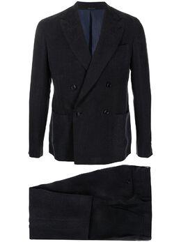 Giorgio Armani костюм-двойка с двубортным пиджаком 1SGAV02JT02KM