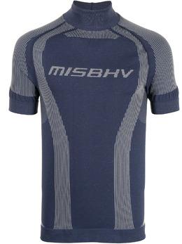 Misbhv футболка узкого кроя с логотипом 021M521
