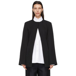 Jil Sander Black Wool Tailored Jacket JSPS190015_WS20150F