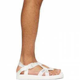 Suicoke White CHIN2-CAB Sandals OG-023-2Cab/ CHIN2-Ca