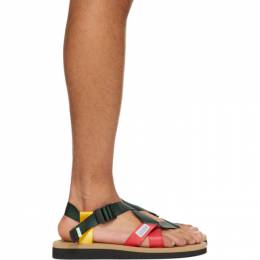 Suicoke Multicolor CHIN2-AB Sandals OG-023-2Cab/ CHIN2-Ca