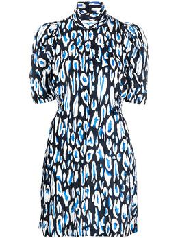 Baum Und Pferdgarten платье с леопардовым принтом и пышными рукавами 21575