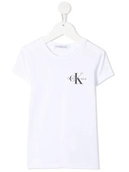 Calvin Klein Kids футболка с логотипом IG0IG00573
