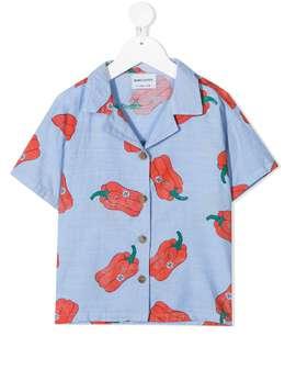 Bobo Choses рубашка из органического хлопка с принтом 121AC085