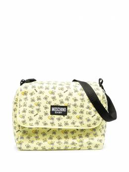 Moschino Kids пеленальная сумка с принтом Teddy Bear MMX03DLDB50
