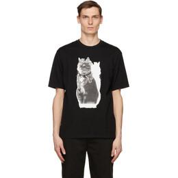 Undercover Black Royal Cat T-Shirt UC1A3802