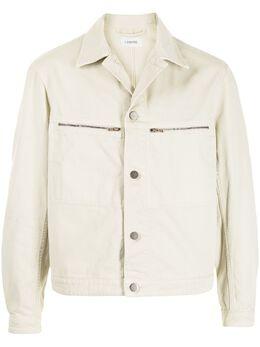 Lemaire джинсовая куртка с карманами на молнии M211OW176LD058