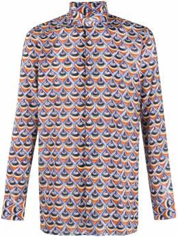 Gabriele Pasini рубашка с длинными рукавами и геометричным принтом G17GENOGP17226
