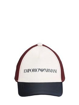 Бейсбольная Кепка Из Хлопка С Логотипом Emporio Armani 73I8Z3002-MDIzMTA1