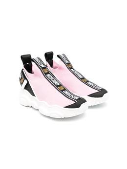 Moschino Kids высокие кроссовки с логотипом 67523V2K