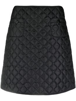Aspesi стеганая юбка мини N0567961