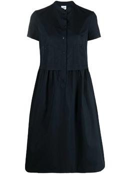 Aspesi расклешенное платье-рубашка H608D307