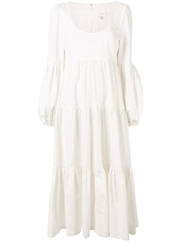 Cinq A Sept ярусное платье со сборками ZD13372452Z