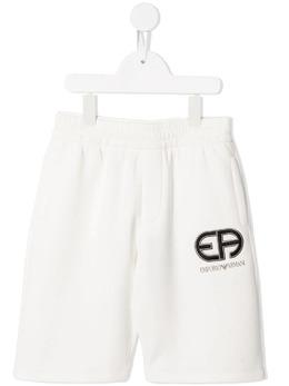 Emporio Armani Kids шорты с вышитым логотипом 3K4P921JHSZ