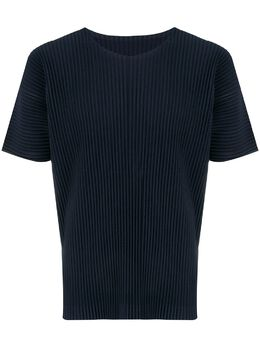 Homme Plisse Issey Miyake плиссированная футболка с короткими рукавами HP88JK020