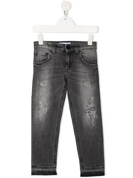 Dondup Kids джинсы с эффектом потертости DMPA116WD012