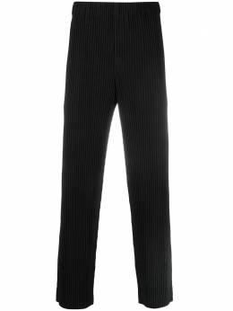 Homme Plisse Issey Miyake укороченные плиссированные брюки HP16JF150