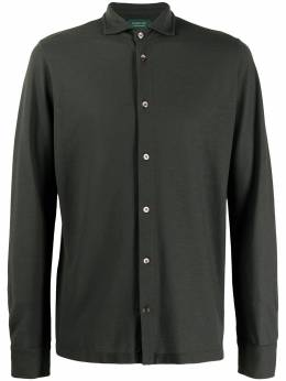Zanone рубашка прямого кроя 811978Z0380