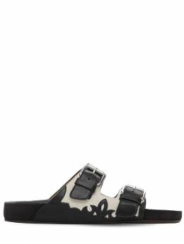 Кожаные Шлепанцы Lennyo 20mm Isabel Marant 73IE1C027-Q0tCSw2