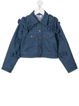 Raspberry Plum джинсовая куртка с бантами J1BLSS21