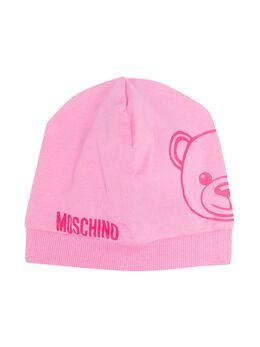 Moschino Kids шапка бини с принтом Teddy MNX035LBA00
