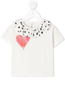 Raspberry Plum футболка Elise с оборками T2BYOWSS21