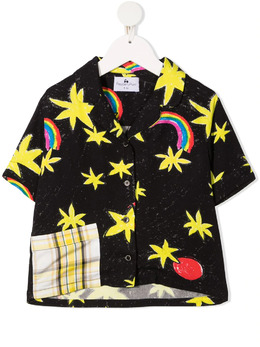 Raspberry Plum рубашка с короткими рукавами и графичным принтом TB5BCSS21