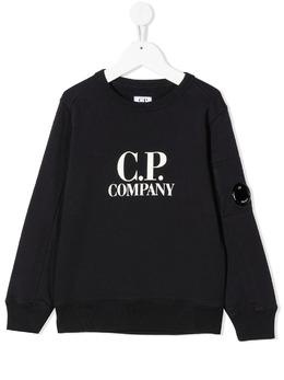 C.P. Company Kids толстовка с логотипом 10CKSS058A003569W