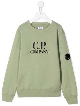 C.P. Company Kids толстовка с логотипом 10CKSS058B003569W