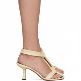 Neous Yellow Proxima 80 Heeled Sandals 00268N15