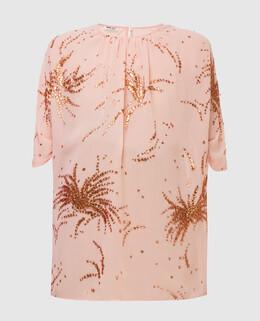 Пудровая блуза Miu Miu 2300003972570