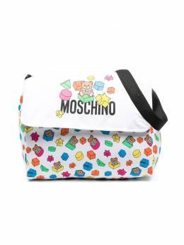 Moschino Kids пеленальная сумка с принтом Teddy Bear MUX03ILBB53