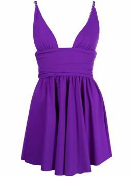 Amen платье с V-образным вырезом AMS21450