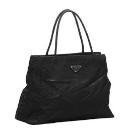 Prada Black Tessuto Nylon Tote Bag 383734