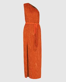 Оранжевое платье Retrofete 2300006615634