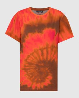 Оранжевая футболка Retrofete 2300006615467