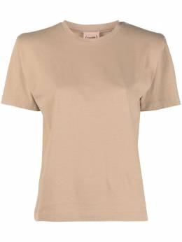 Nude однотонная футболка 1103529