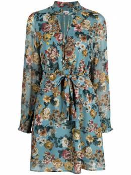 Liu Jo расклешенное платье с цветочным принтом WA1554T9369